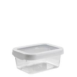 Good Grips LockTop Container Small Rectangle 3.8 cup WhiteClear (OXO1117780)
