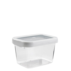 Good Grips LockTop Container Small Rectangle 5.5 cup WhiteClear (OXO1117880)