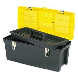 Series 2000 Toolbox with Tray Two Lid Compartments (BOS019151M)
