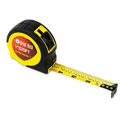 "ExtraMark Power Tape 1"" x 25ft Steel Yello with Black (GNS95005)"