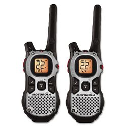 MJ270R Talkabout Two-Way Radios 22 Channel 1 Watt 22 Frequency .21lb Pack of 2 (MTRMJ270R)