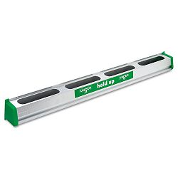 "Hold Up Aluminum Tool Rack 36"" GreenSilver Each (UNGHU900)"