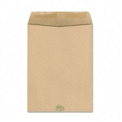 "Envirotech 60 Lb. Catalog Envelope Side Seam 9"" x 12"" Kraft Box of 110 (AMP19706)"