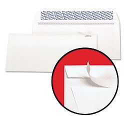 Gold Fibre Fastrip Security Envelope Self-Adhesive #10 White Box of 100 (AMP73139)