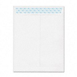 "Safeseal White Catalog Envelope Side Seam 10"" x 13"" Box of 100 (AMP73140)"