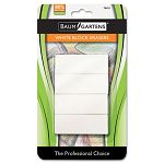 Block Eraser Latex Free White Pack of 4 (BAU74121)