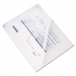 "Document Carrier for Coping Scanning or Faxing 8-12"" x 11"" Sheets Clear Pack of 10 (PMC099DC)"