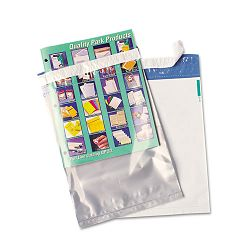 "Redi-View Poly Mailer Redi-Strip Side Seam 9"" x 12"" Clear Pack of 100 (QUA45590)"