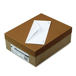 Business Envelope Contemporary #10 White Recycled Box of 500 (QUA11117)