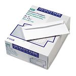 Park Ridge Embossed Executive Envelope Contemporary #10 White Box of 500 (QUA11130)