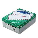Air Mail Envelope Traditional #10 White Box of 500 (QUA16210)