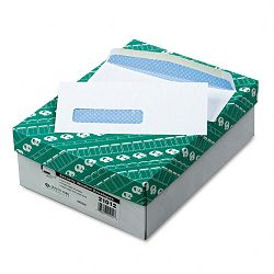 Security Business Envelope Address Window Contemporary #8-58 White Box of 500 (QUA21012)