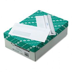 Redi-Seal Window Envelope Contemporary #10 White Box of 500 (QUA21318)