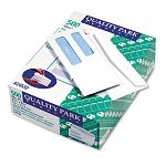 Double Window Security Tinted Invoice & Check Envelope #8 White Box of 500 (QUA24532)