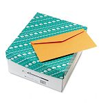 Kraft Envelope Contemporary #16 Light Brown Box of 500 (QUA25762)