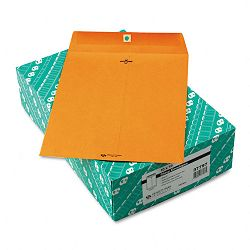 "Clasp Envelope 10"" x 13"" 32 Lb. Light Brown Box of 100 (QUA37797)"