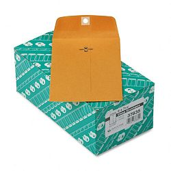 "Clasp Envelope 5"" x 7-12"" 28 Lb. Light Brown Box of 100 (QUA37835)"