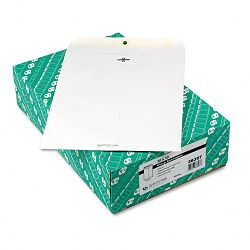 "Clasp Envelope 10"" x 13"" 28 Lb. White Box of 100 (QUA38397)"