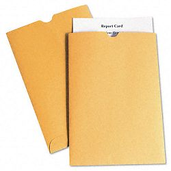 Report Card Jacket 28 Lb. Kraft Thumb Cut 100 per Box (QUA40762)