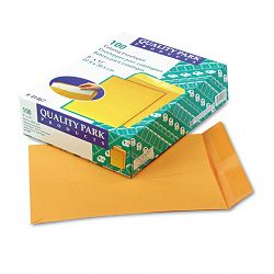 "Catalog Envelope 9"" x 12"" Light Brown Box of 100 (QUA41467)"