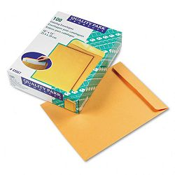 "Catalog Envelope 10"" x 13"" Light Brown Box of 100 (QUA41667)"