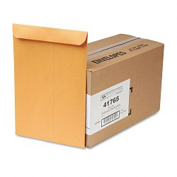 "Catalog Envelope 10"" x 15 Light Brown Box of 250 (QUA41765)"