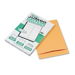 "Jumbo Size Kraft Envelope 15"" x 20"" Light Brown Box of 25 (QUA42355)"