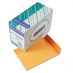"Redi-Seal Catalog Envelope 9"" x 12"" Light Brown Box of 250 (QUA43562)"