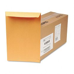 "Redi-Seal Catalog Envelope 10"" x 15 Light Brown Box of 250 (QUA43862)"