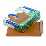 "Redi-Strip Catalog Envelope 9"" x 12"" Light Brown Box of 100 (QUA44562)"