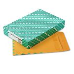 "Redi-Seal Catalog Envelope Air Mail Side Seam 10"" x 13"" Light Brown Box of 100 (QUA54295)"
