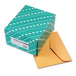 "Open Side Booklet Envelope Traditional 12"" x 10"" Light Brown Box of 100 (QUA54300)"