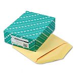 "Open Side Booklet Envelope Traditional 13"" x 10"" Cameo Buff Box of 100 (QUA54414)"