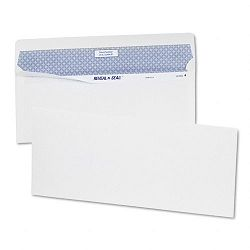 Reveal-N-Seal Business Envelope Contemporary #10 White Box of 40 (QUA67012)