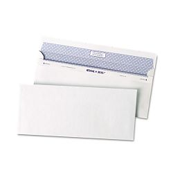 Reveal-N-Seal Business Envelope Contemporary #10 White Box of 500 (QUA67218)