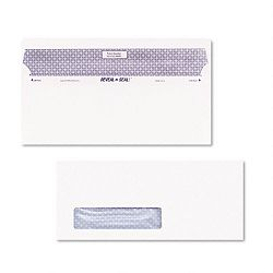 Reveal-N-Seal Window Envelope Contemporary #10 White Box of 500 (QUA67418)