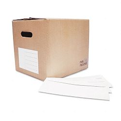 Redi-Strip Security Tinted Window Envelope Contemporary #10 White Box of 1000 (QUA69222B)