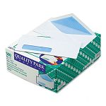 Security Business Envelope Address Window Contemporary #10 White Box of 500 (QUA90130)