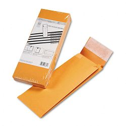 "Redi-Strip Kraft Expansion Envelope Side Seam 5"" x 11"" x 2"" Brown Pack of 25 (QUA93331)"