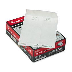 "Tyvek Mailer Side Seam 6"" x 9"" White Box of 100 (QUAR1320)"