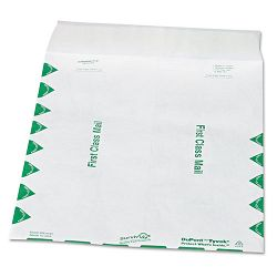 "Tyvek USPS First Class Mailer Side Seam 9-12"" x 12-12"" White Box of 100 (QUAR1530)"