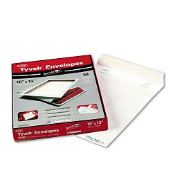 "Tyvek Mailer Side Seam 10"" x 13"" White Box of 50 (QUAR1582)"
