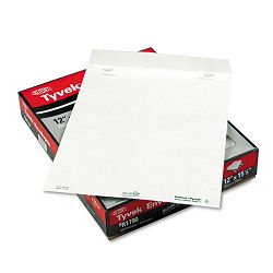 "Tyvek Mailer Side Seam 12"" x 15-12"" White Box of 100 (QUAR1790)"