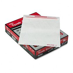 "Advantage Flap-Stik Tyvek Mailer Side Seam 10"" x 13"" White Box of 100 (QUAR2420)"