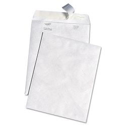 "White Leather Tyvek Mailer 10"" x 13"" White Box of 100 (QUAR3140)"