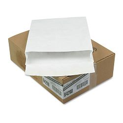 "Tyvek Expansion Mailer 12"" x 16"" x 2"" White 18 Lb. Carton of 100 (QUAR4290)"