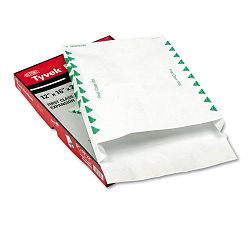 "Tyvek Expansion Mailer First Class 12"" x 16"" x 2"" White Box of 25 (QUAR4302)"