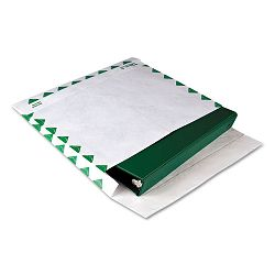 "Tyvek Booklet Expansion Mailer 1st Class 10"" x 13"" x 2"" White 18 Lb. Carton of 100 (QUAR4440)"