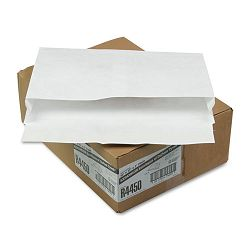 "Tyvek Expansion Mailer 10"" x 15 x 2"" White 18 Lb. Carton of 100 (QUAR4450)"
