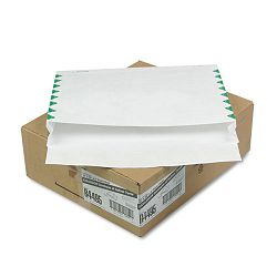 "Tyvek Booklet Expansion Mailer 1st Class 12"" x 16"" x 2"" White 18 Lb. Carton of 100 (QUAR4495)"